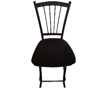 Amisco Black Counter Chairs/Stools
