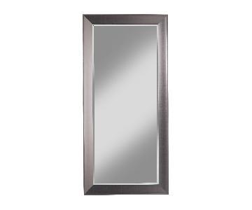 Copper Grove Schilla Silver Full-length Leaner Mirror