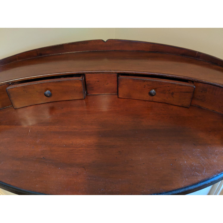 Williams-Sonoma Oval Vanity Desk w/ Stool-4
