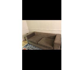 West Elm Button Tufted Sofa
