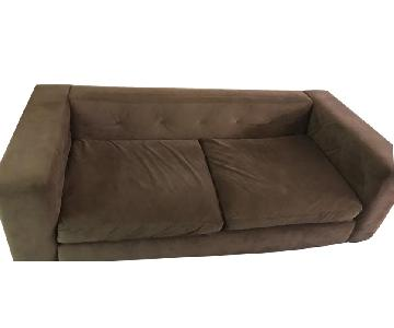West Elm Button Tufted Sofa