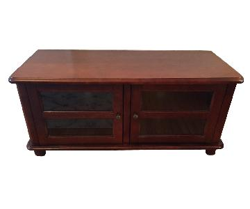 Coaster Media TV Console w/ Doors & Shelves
