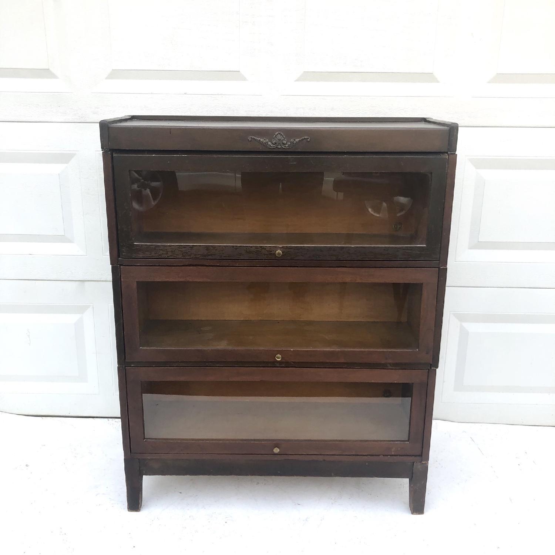 Vintage Barrister Bookcase-0
