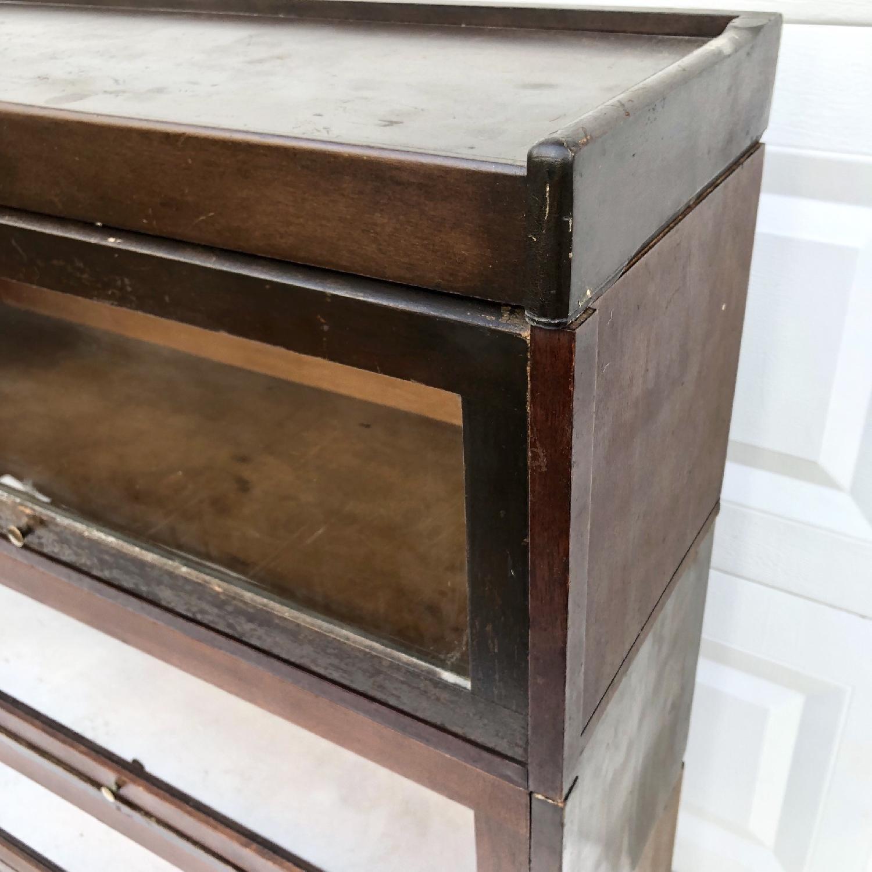 Vintage Barrister Bookcase-2