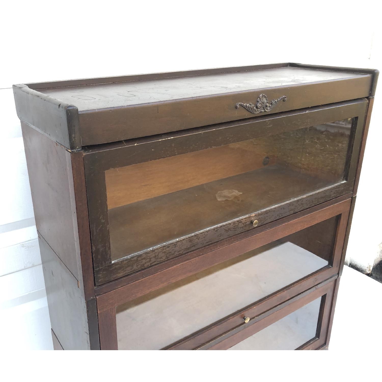 Vintage Barrister Bookcase-9
