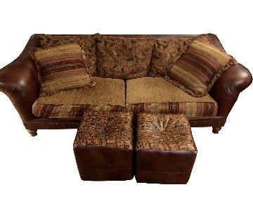 Century Furniture Custom Sofa