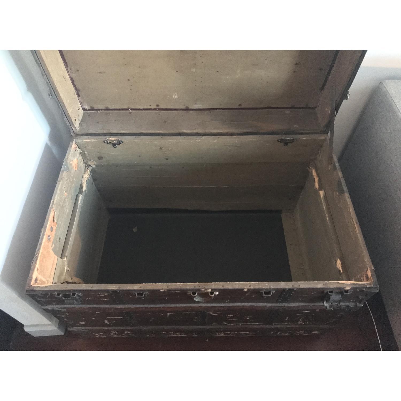 Antique Steamer Trunk-1