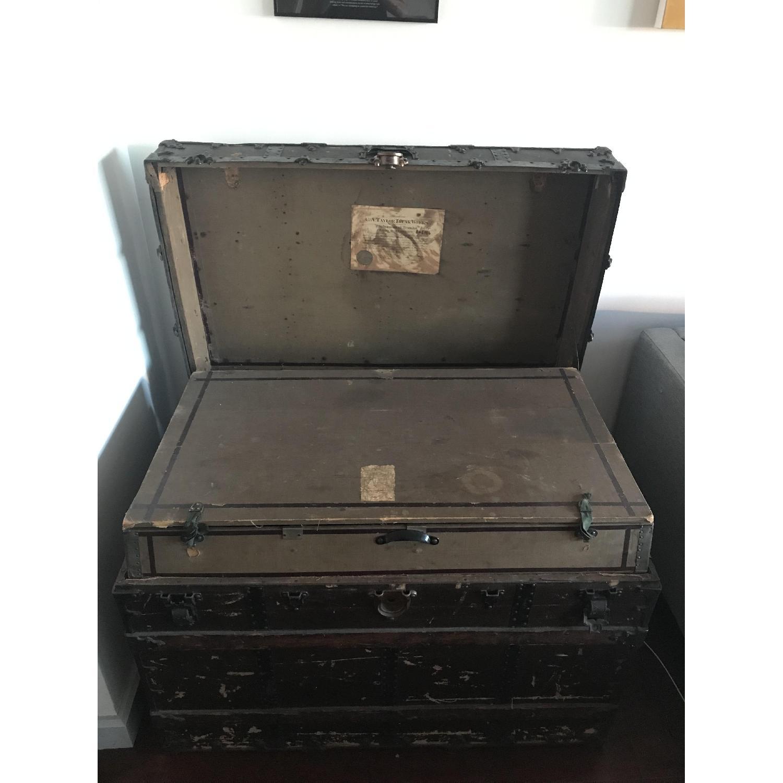 Antique Steamer Trunk-2