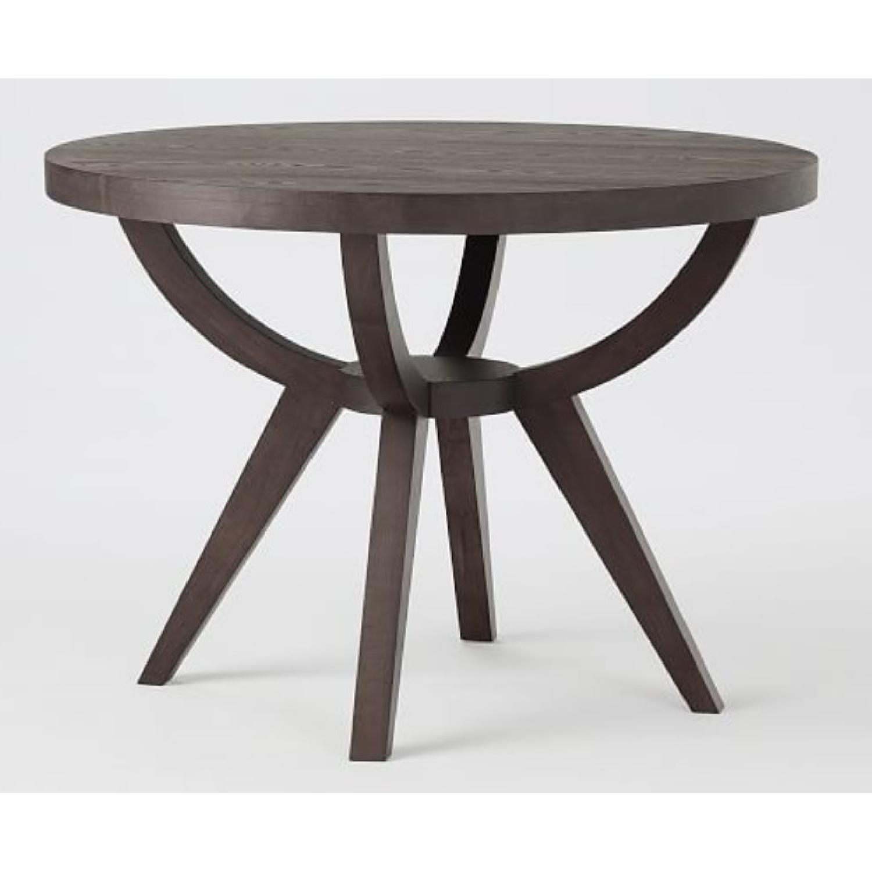 West Elm Dining Arc Base Pedestal Table-0