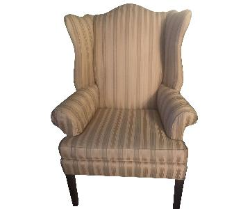 Ethan Allen Gold Wing Chair