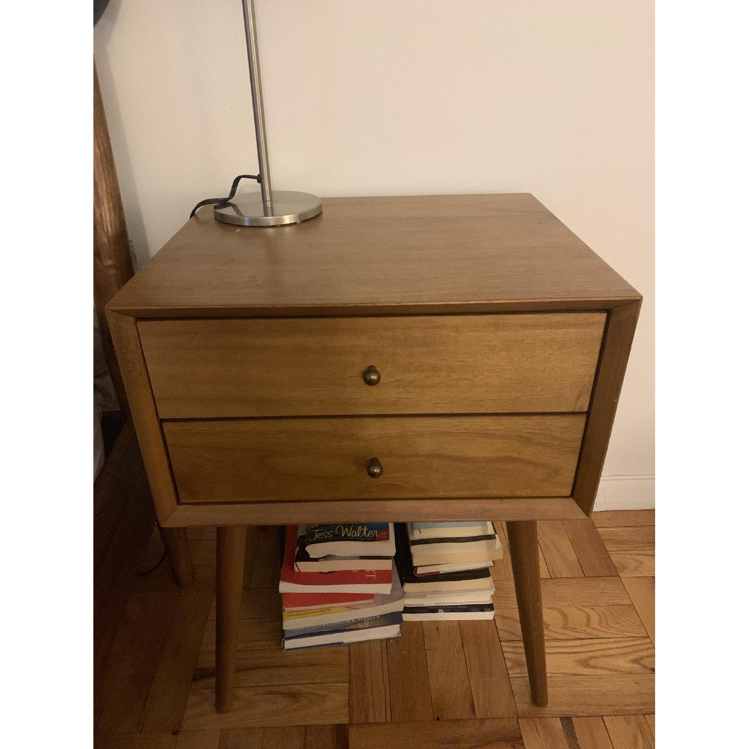 West Elm Mid Century Nightstand in Acorn-2
