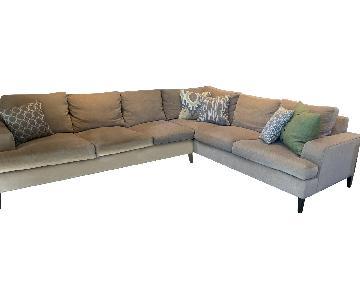Kravet Custom 2-Piece Sectional Sofa