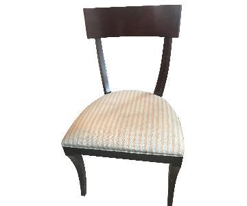 Ethan Allen Klismos Dining Chairs