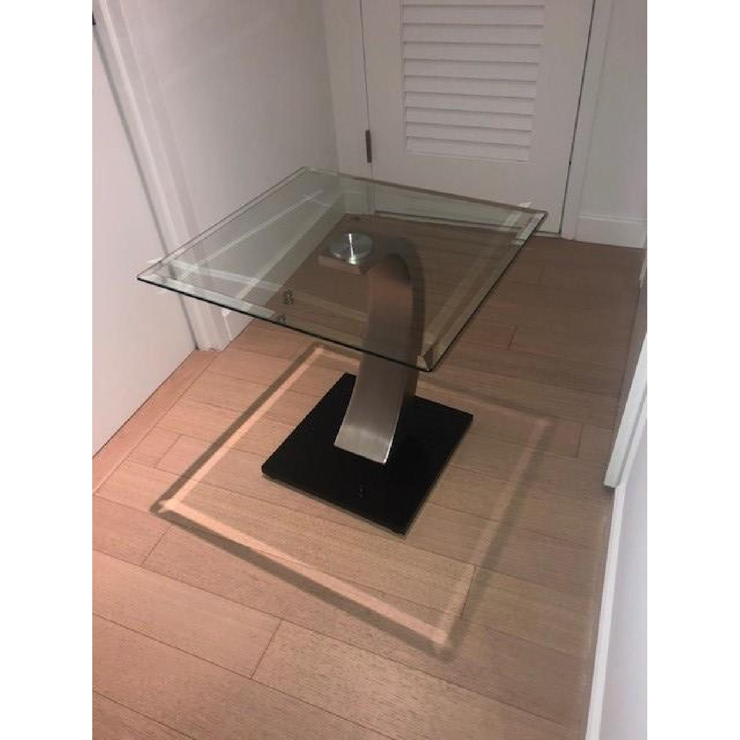 Coaster Glass Top End Table-1