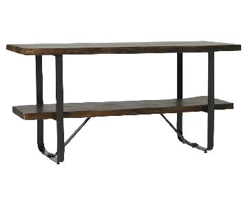 West Elm Raw Edge Media Console