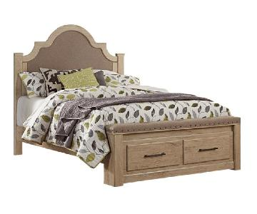 Ashley Annilynn Queen Size Storage Bed