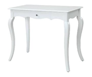 Convenience Concepts White French Provence Desk