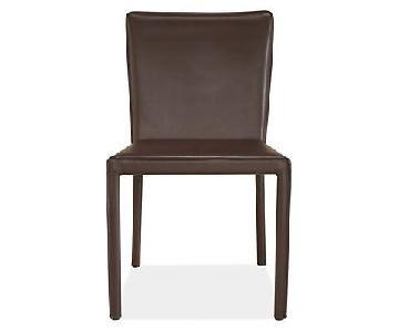Room & Board Sava Leather Dining Chairs