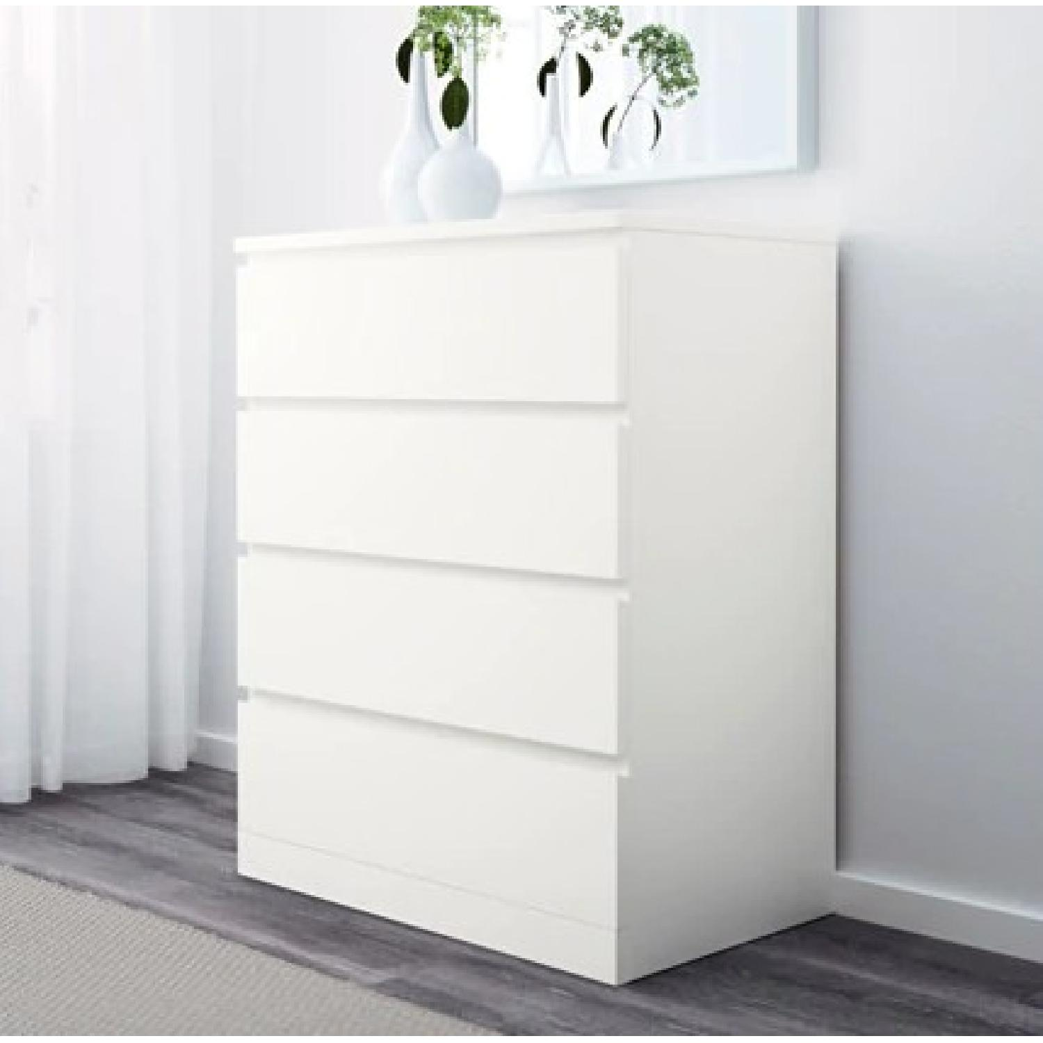 Ikea Malm 4-Drawer Chest-1