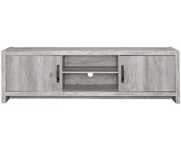 Grey Driftwood TV Console