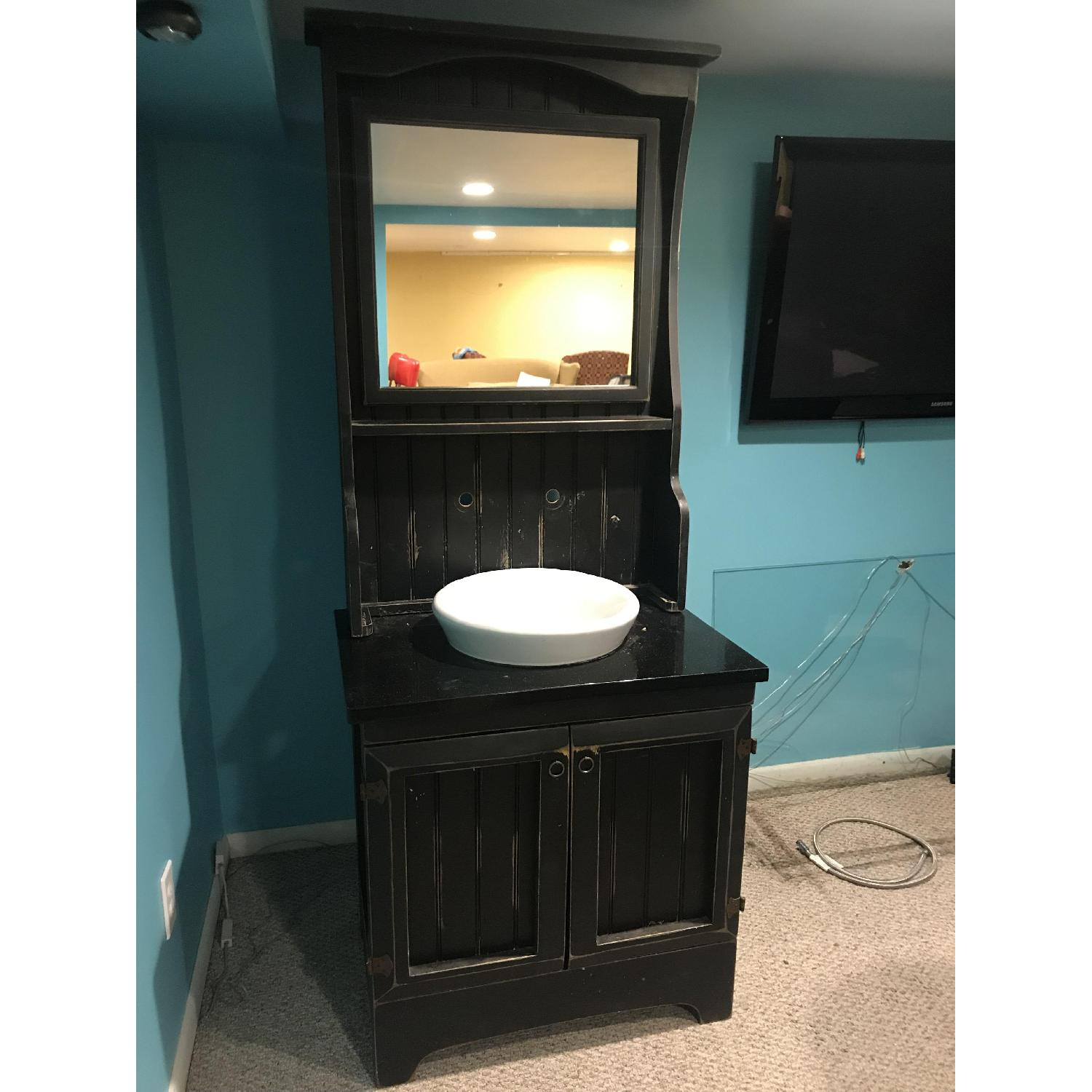 Shabby Chic Bathroom Vanity-0