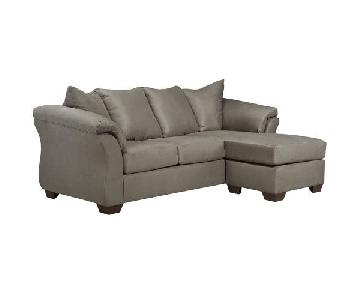 Andover Mills Torin Reversible Chaise Sectional Sofa