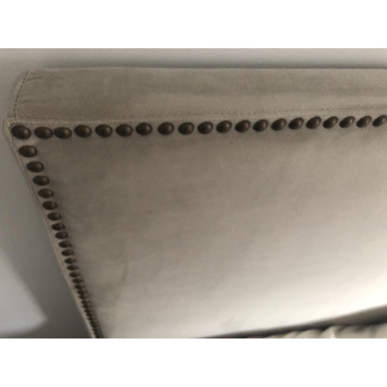 West Elm Tall Nailhead Upholstered Headboard-3
