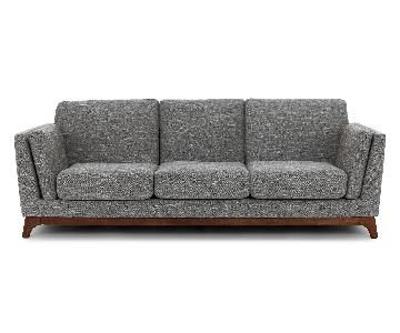 Article Ceni Sofa in Volcanic Gray