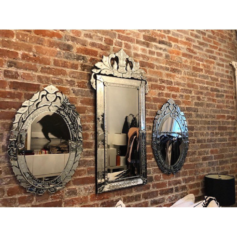 Oval Venetian Mirrors-0