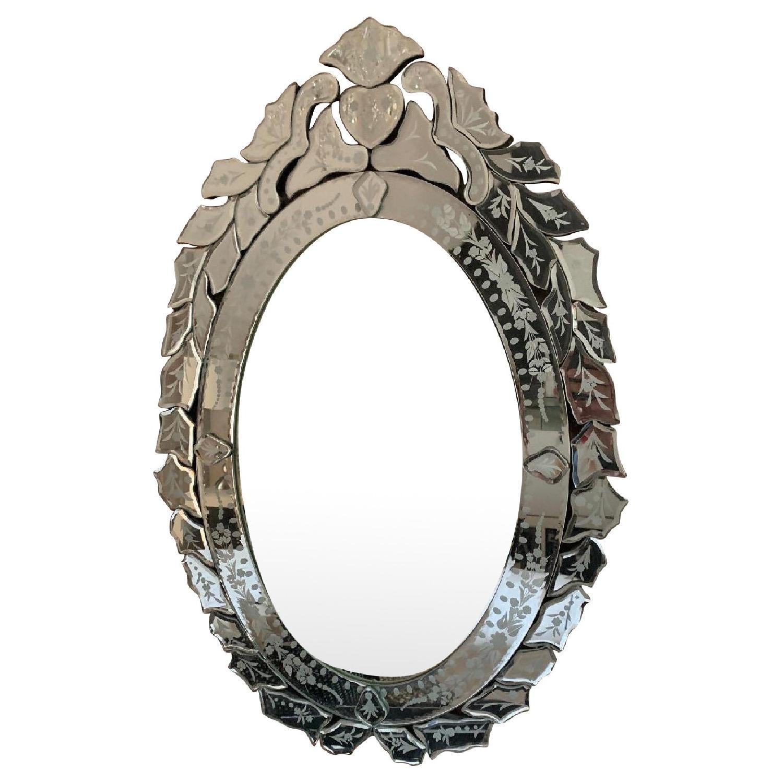 Oval Venetian Mirrors