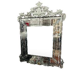Square Wall Venetian Mirror