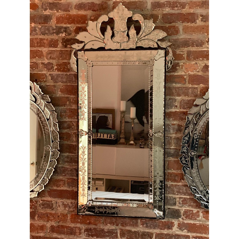 Mid Size Rectangular Venetian Mirror-0