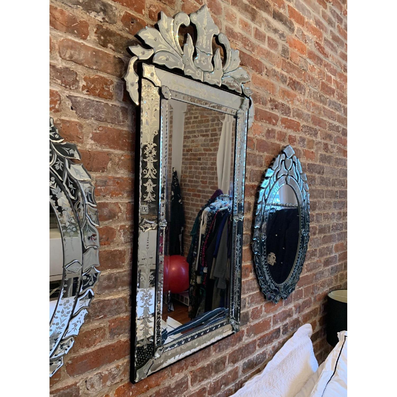 Mid Size Rectangular Venetian Mirror-1