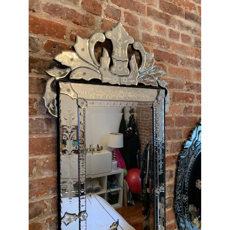 Mid Size Rectangular Venetian Mirror-2