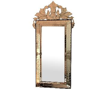 Mid Size Rectangular Venetian Mirror