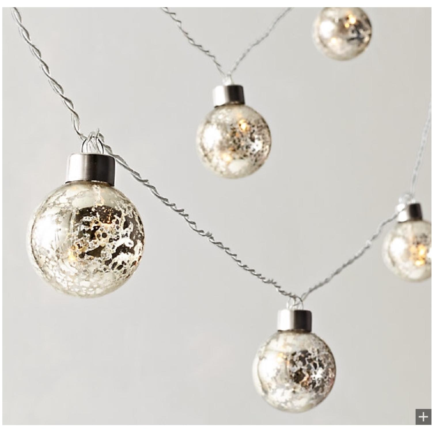 Restoration Hardware Mercury Glass Globe String Light-0