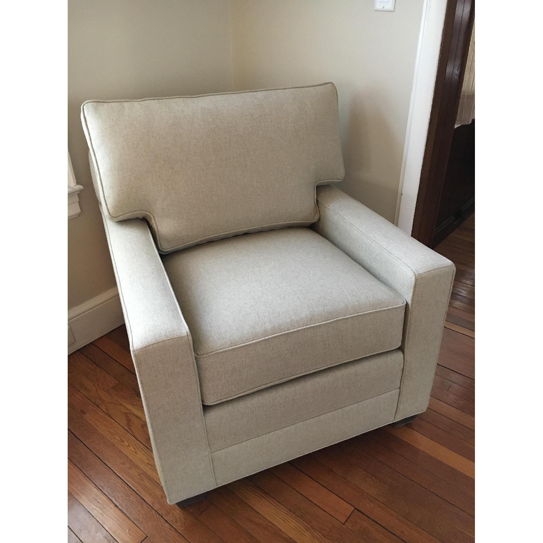 Ethan Allen Bennett Track Arm Chair-1