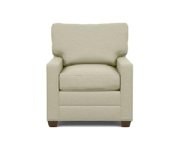 Ethan Allen Bennett Track Arm Chair