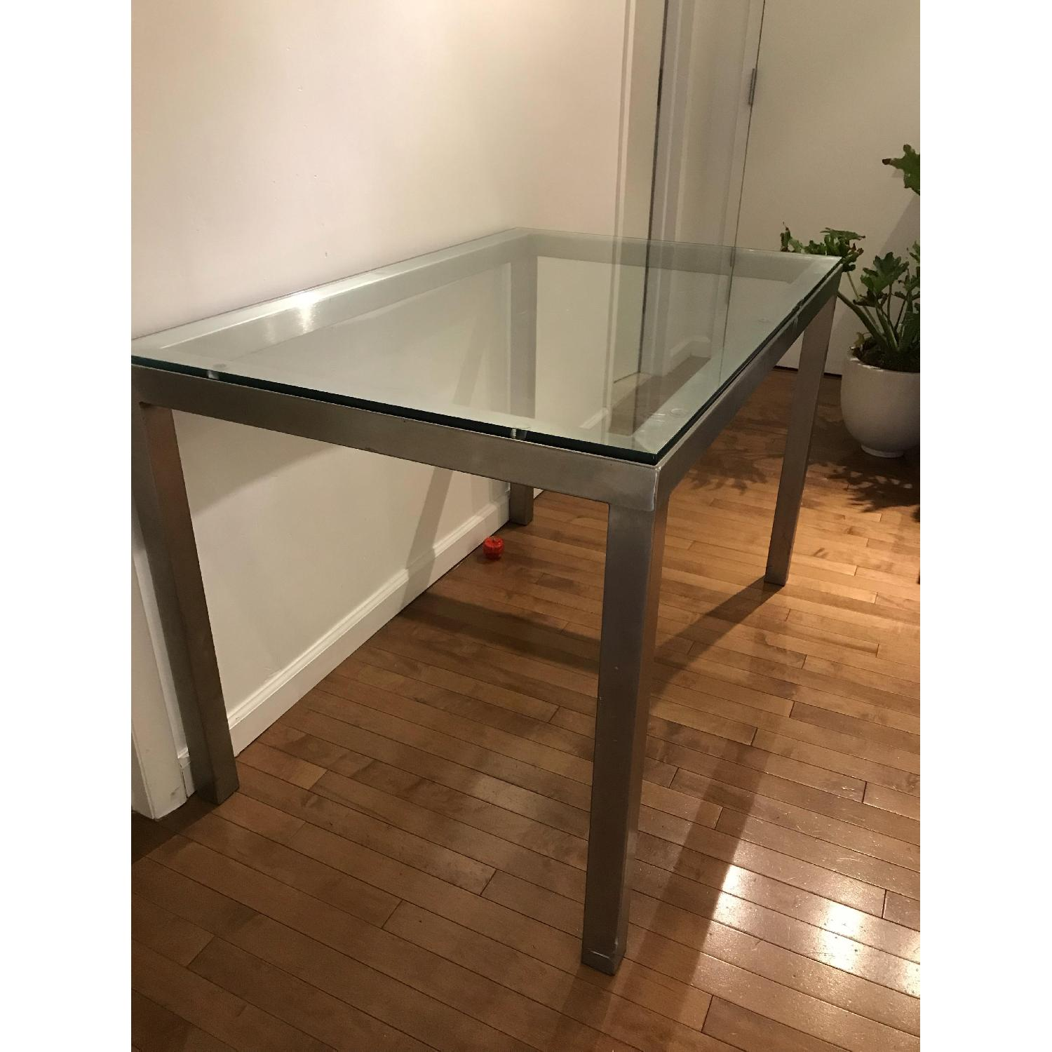 CB2 Glass Table-1