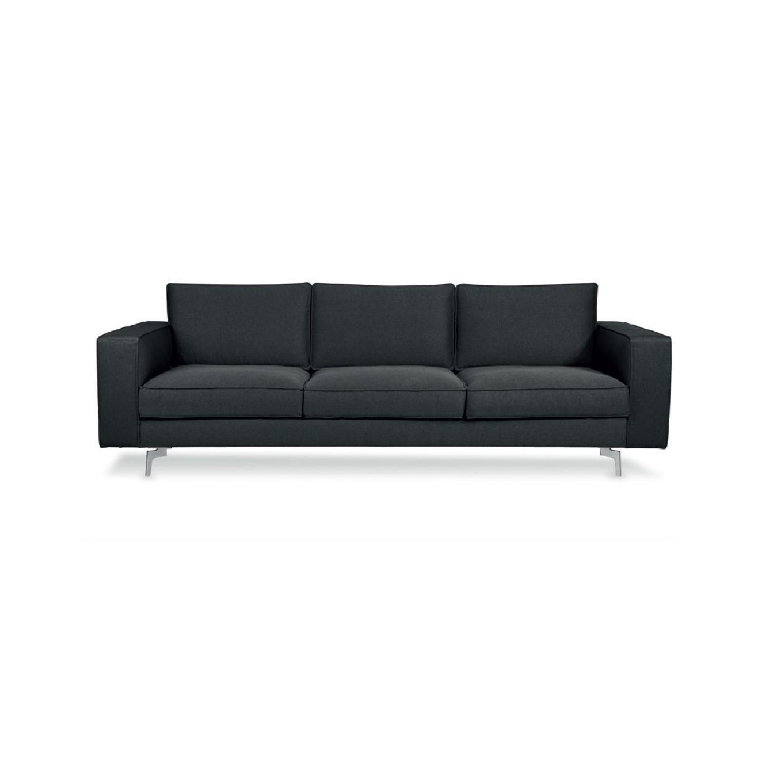 Calligaris Square 3 Seater Sofa w/ Metal Legs