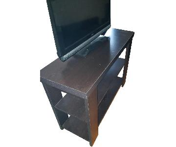 Dark Brown Wooden TV Stand/Entryway Table