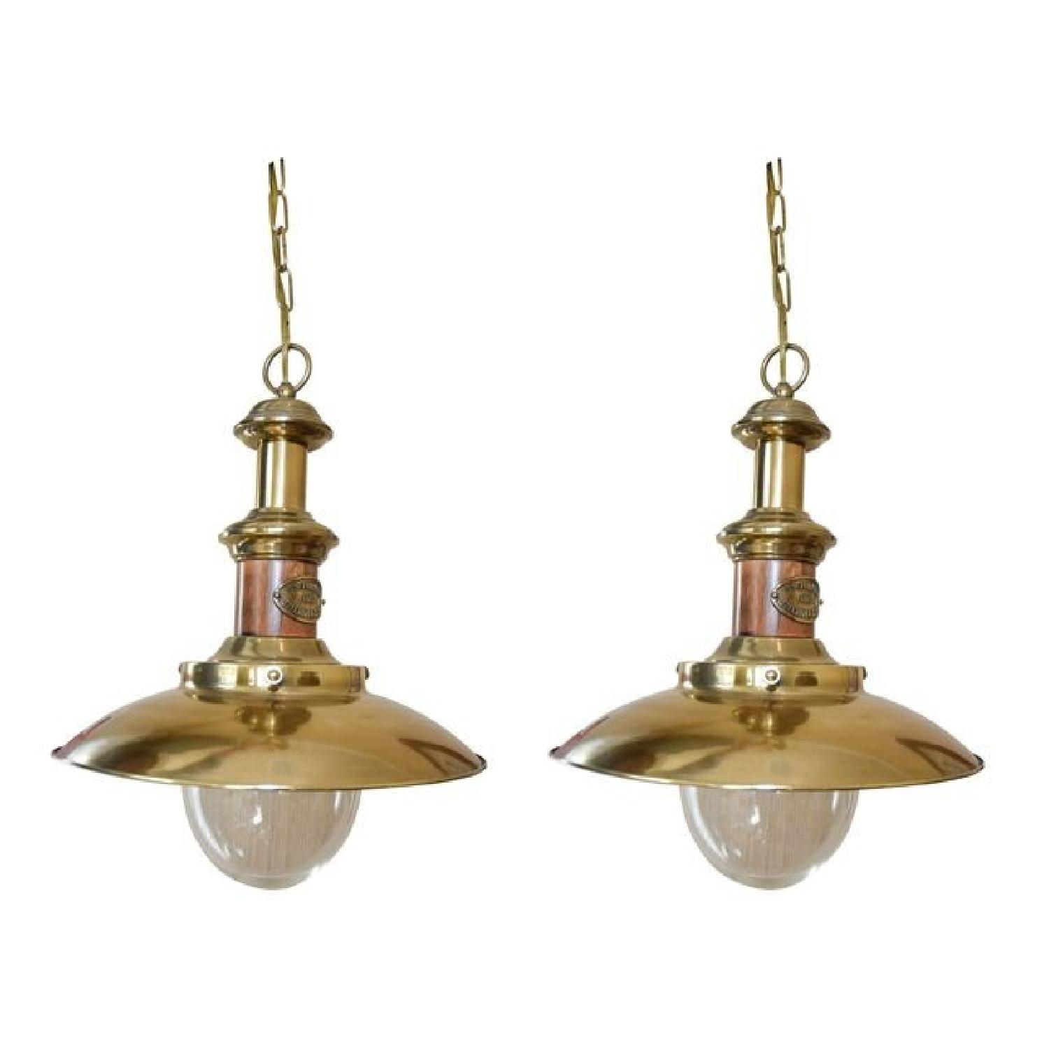 Fall River Lighting Industrial Chic Hanging Lamps-0