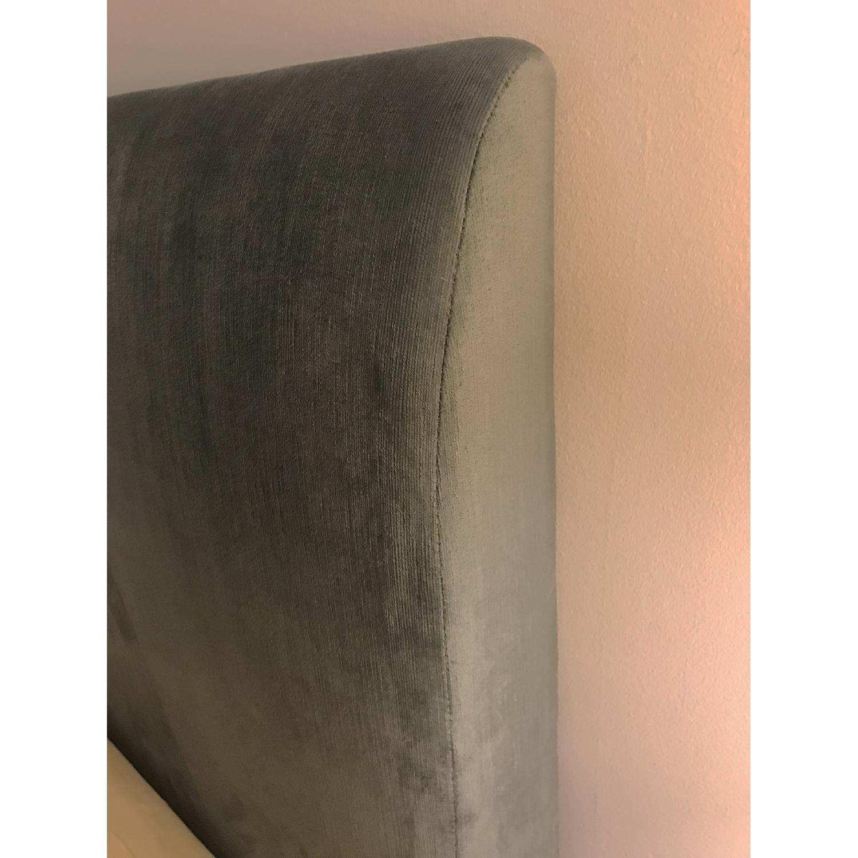 West Elm Andes Deco Upholstered Bed Frame-2