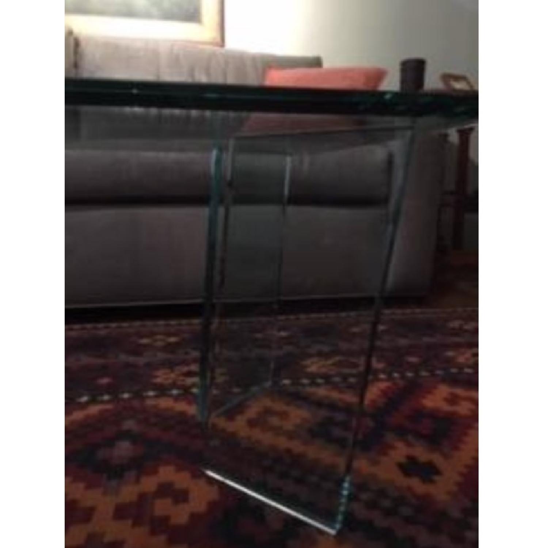 Custom Made Glass Coffee Table-2
