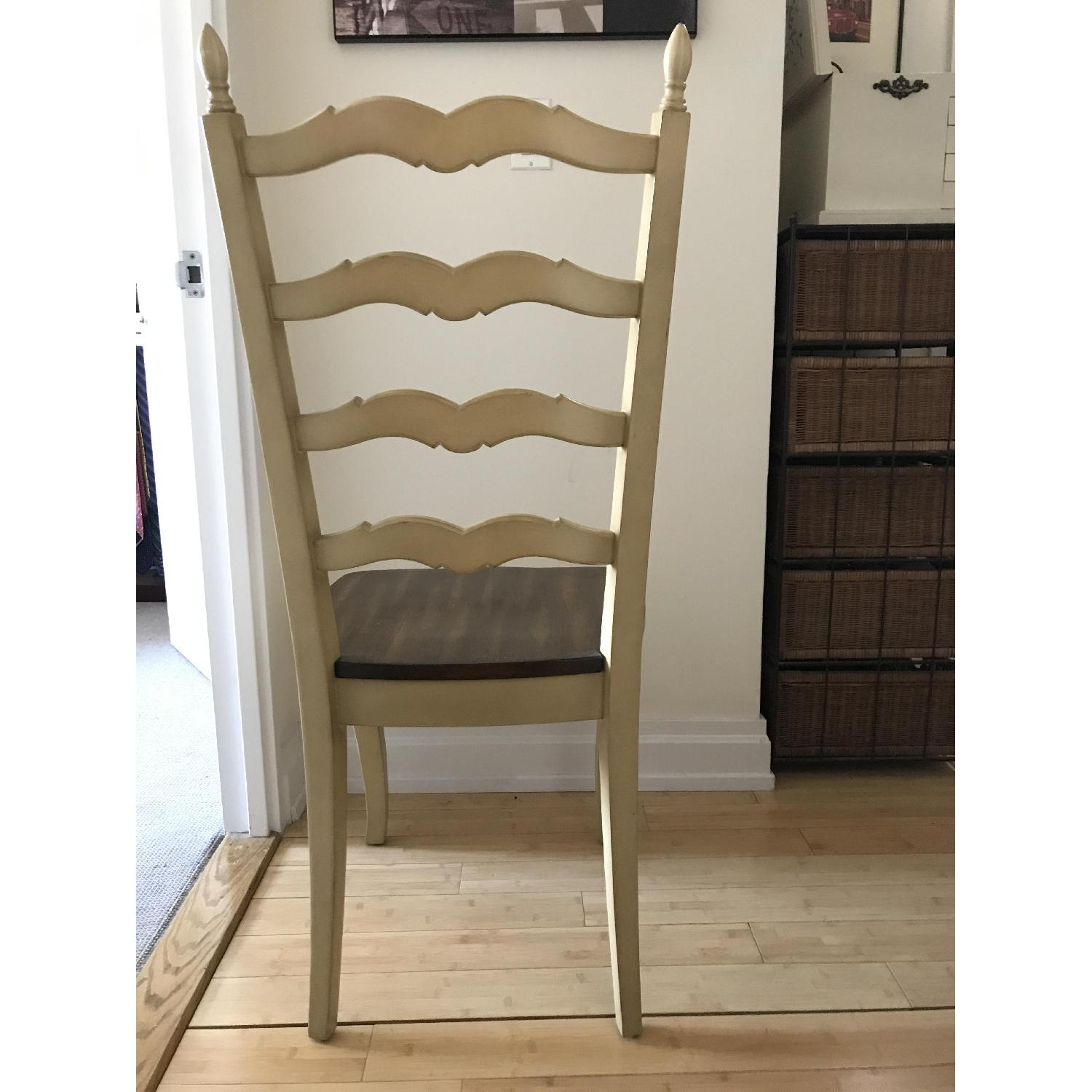 Pier 1 Francesca Antique Ivory Dining Chair-2