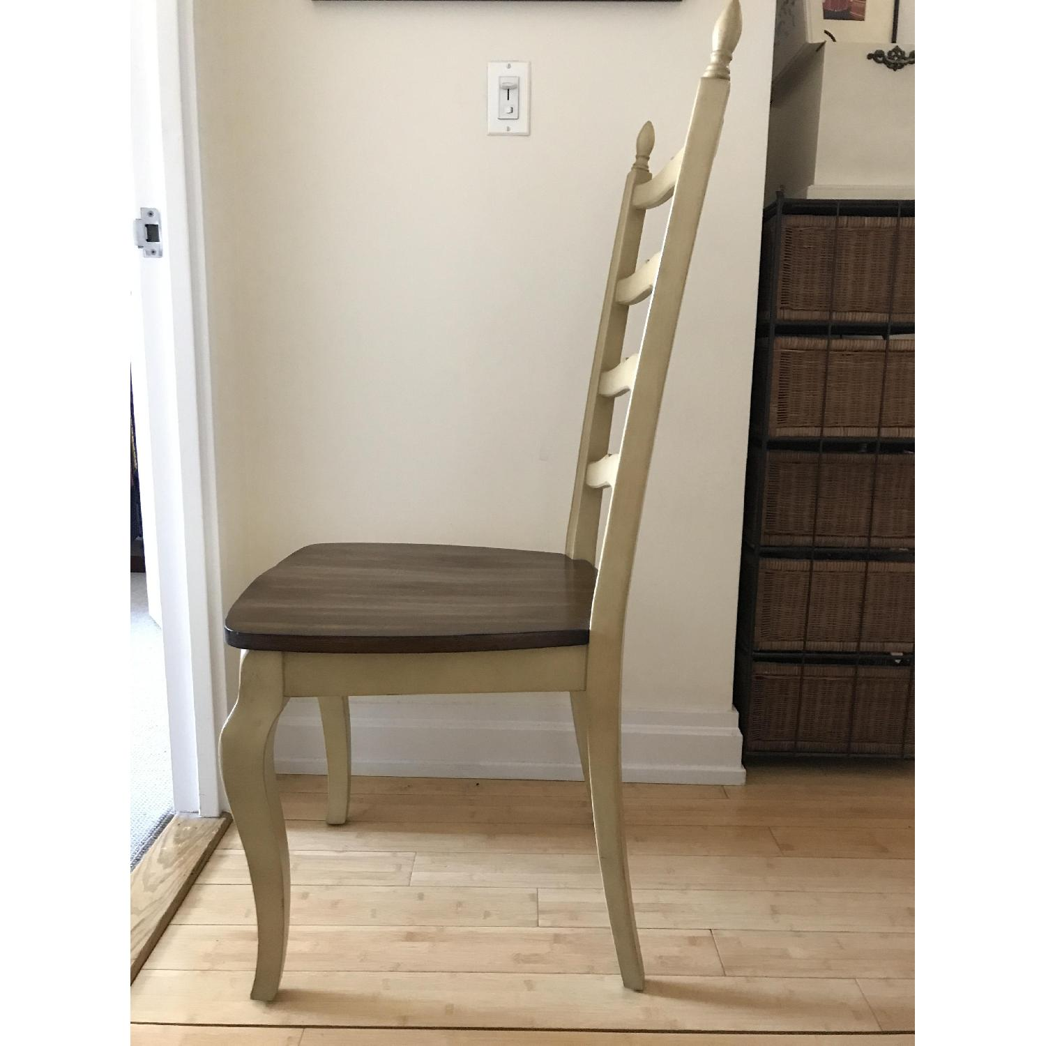 Pier 1 Francesca Antique Ivory Dining Chair-3