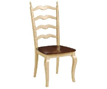 Pier 1 Francesca Antique Ivory Dining Chair