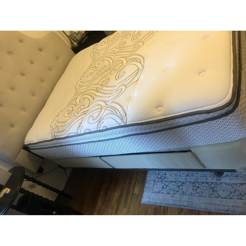 Full Size Modern Platform Bed w/ 4 Storage Drawers-2