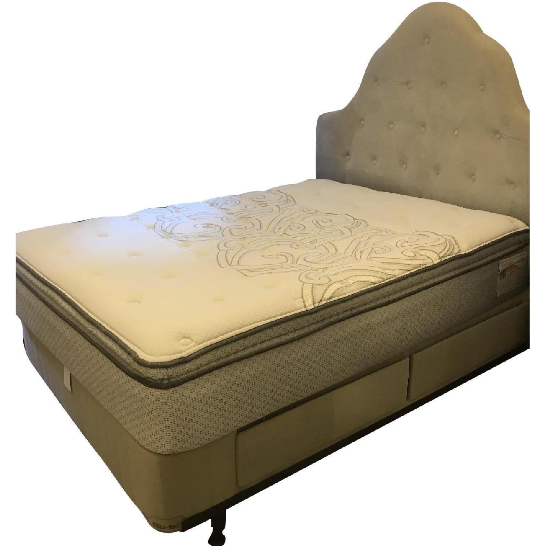 Full Size Modern Platform Bed w/ 4 Storage Drawers