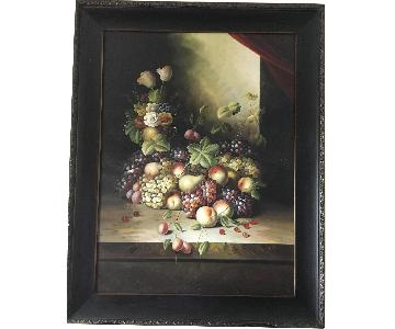 Fruits Painting Wall Decor